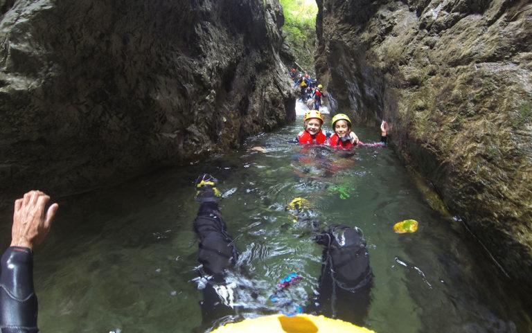 canyoning palvico