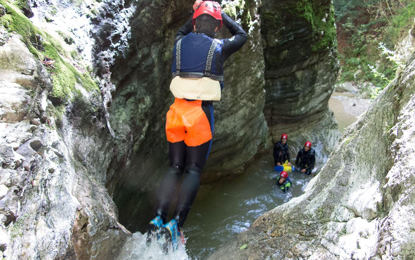 canyoning vaio orsa