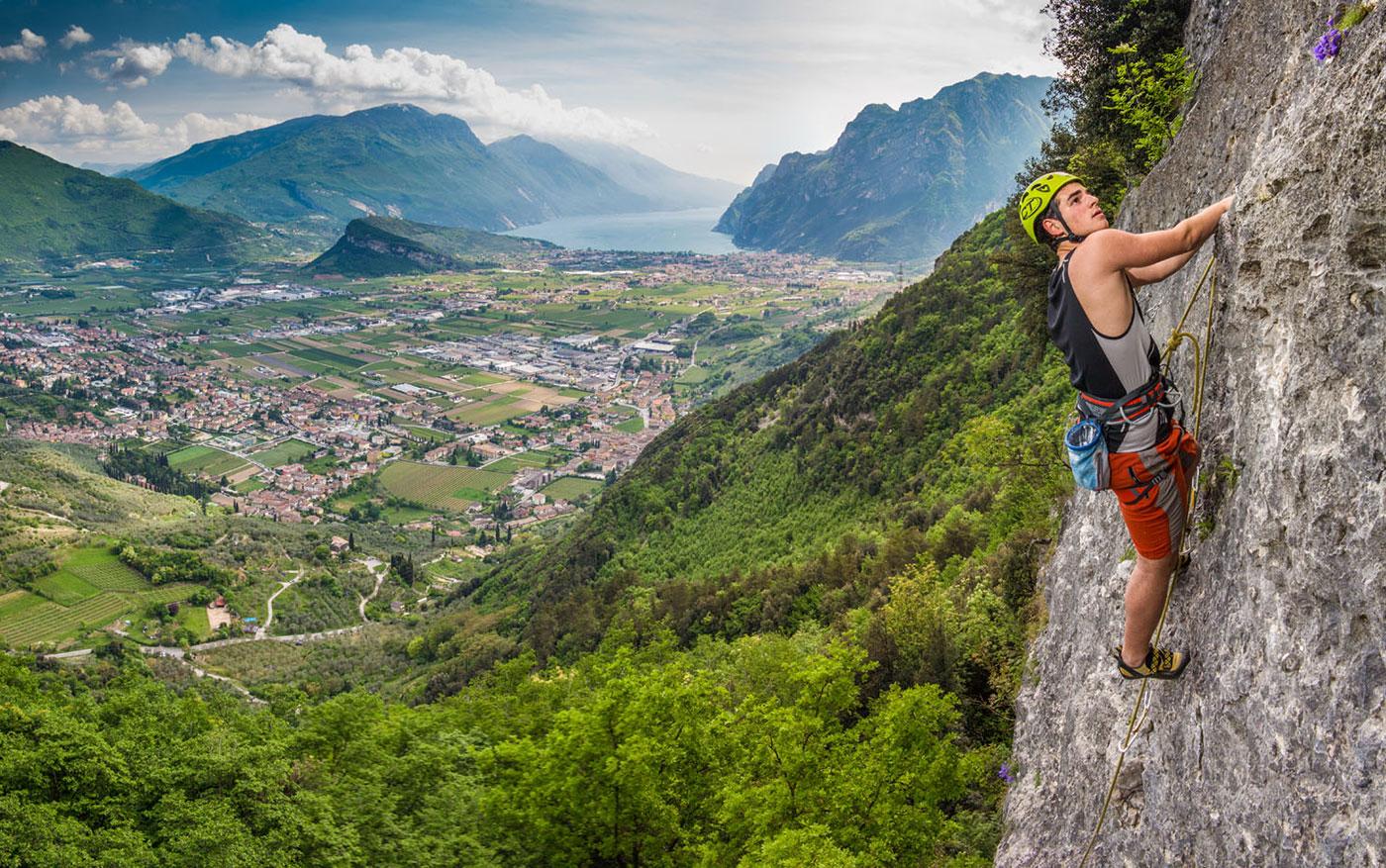 corso avanzato arrampicata ragazzi lago di garda