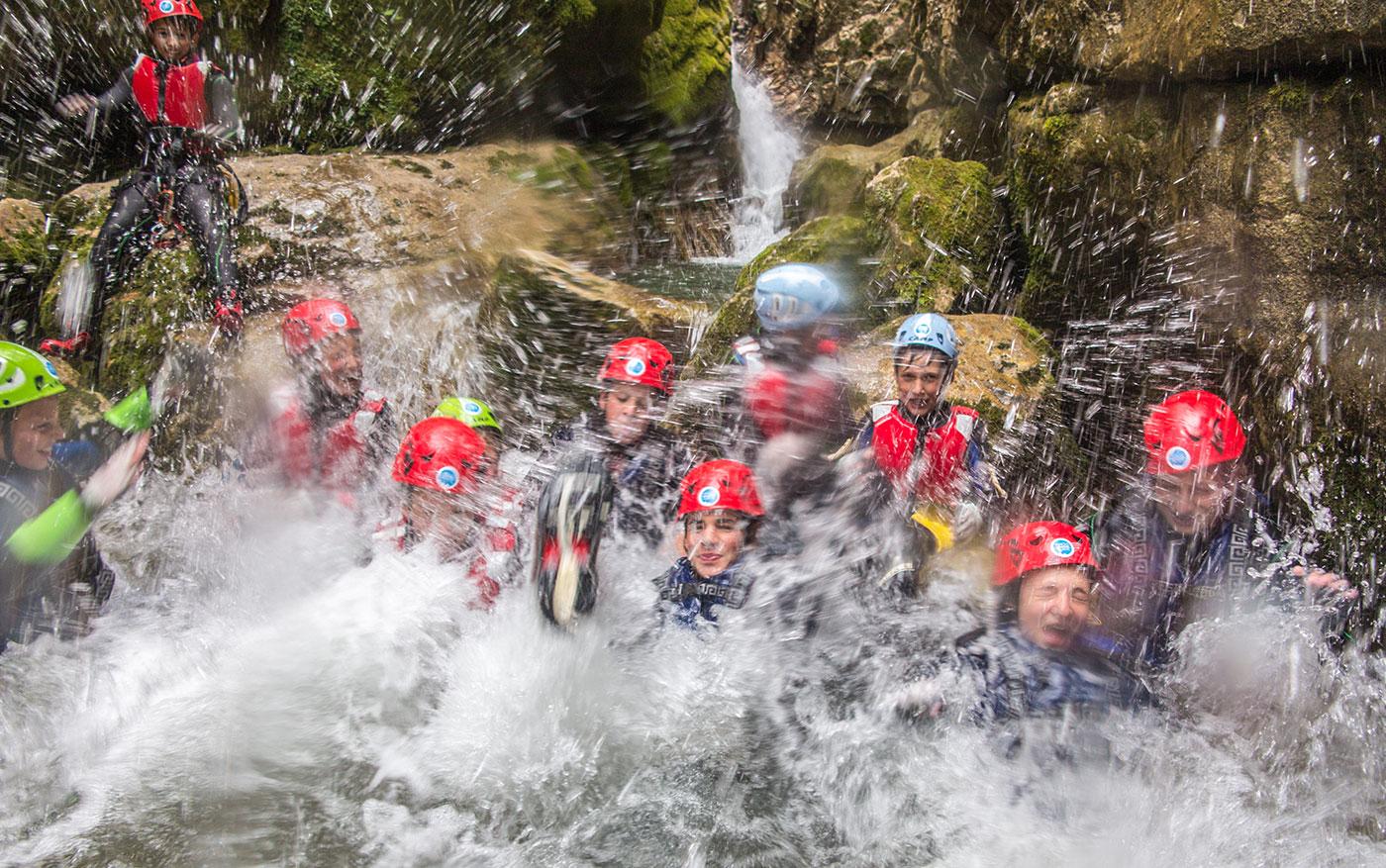 canyoning rio nero