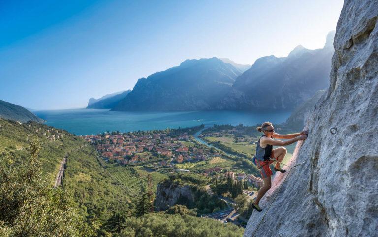 arrampicata lago garda arco