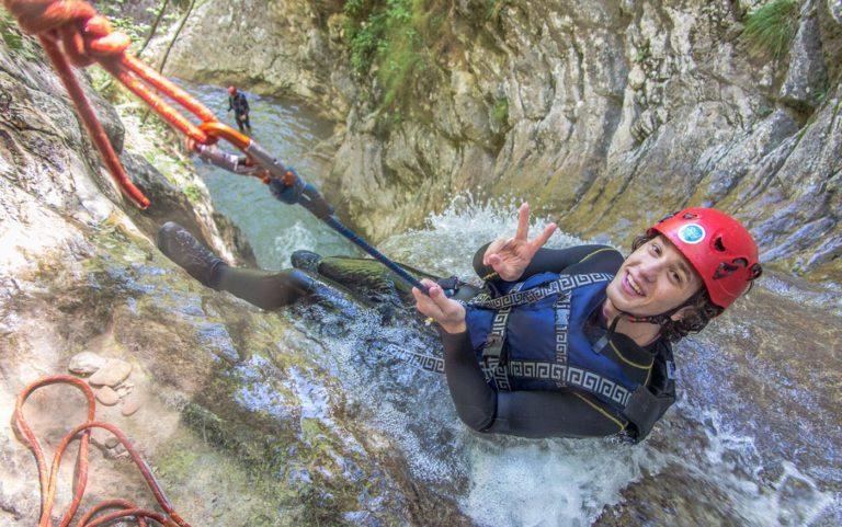 canyoning lago garda