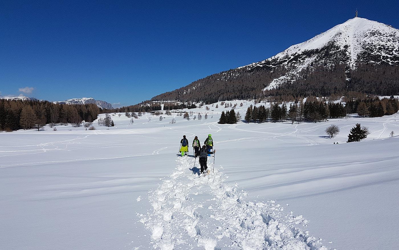 Ciaspolare in Trentino, Dolomiti e al Lago di Garda