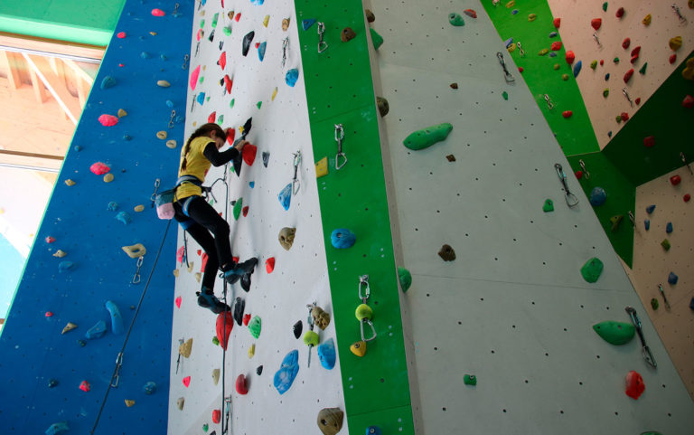 corso arrampicata indoor ad arco