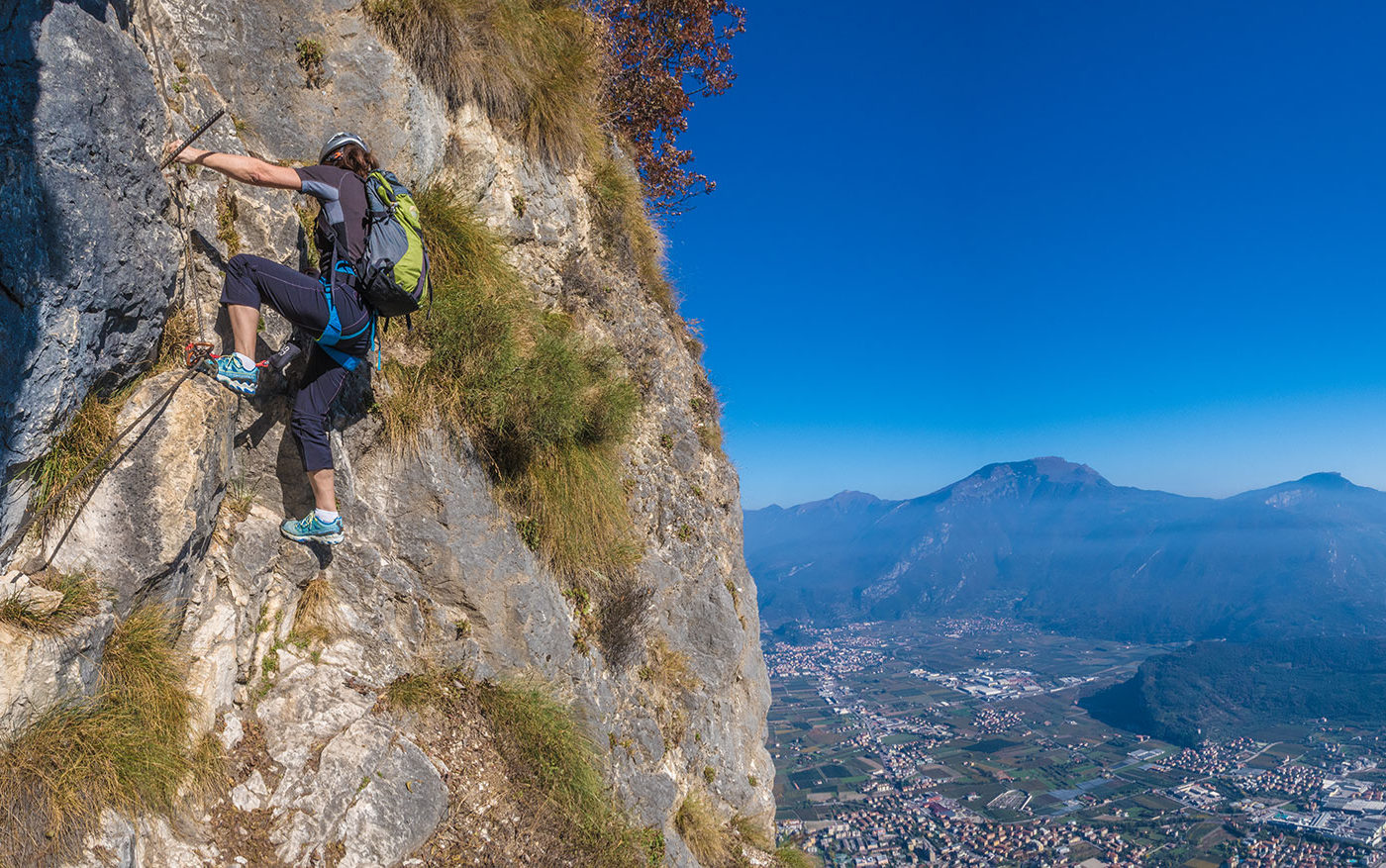 Pisetta Klettersteig Gardasee