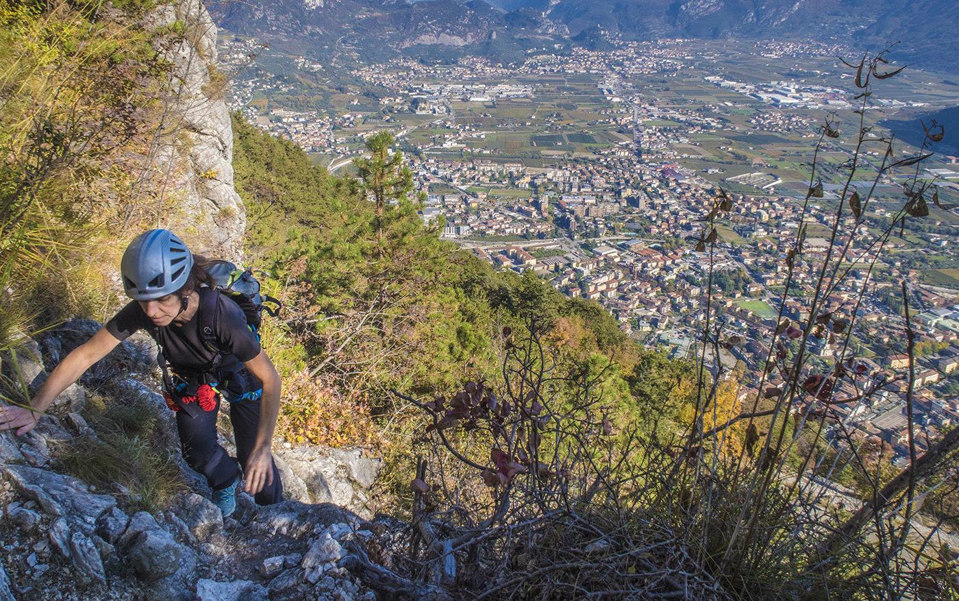 Via Ferrata Pisetta Arco Mountain Guide