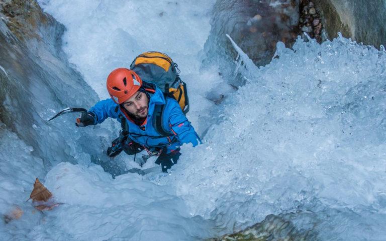Ice Climbing Lake Garda Trentino